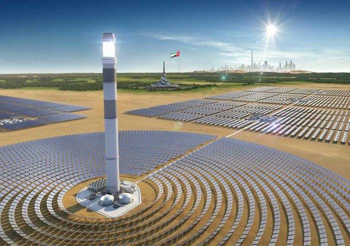 Güneş Enerji Çiftliğinden Bir Görüntü