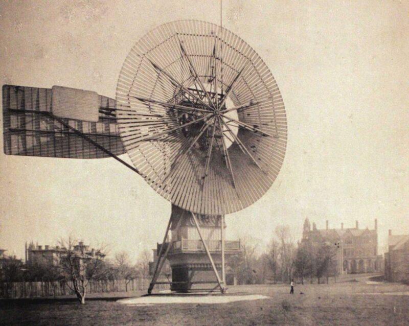 Dünyanın İlk Rüzgar Türbini - Brush Rüzgar Türbini