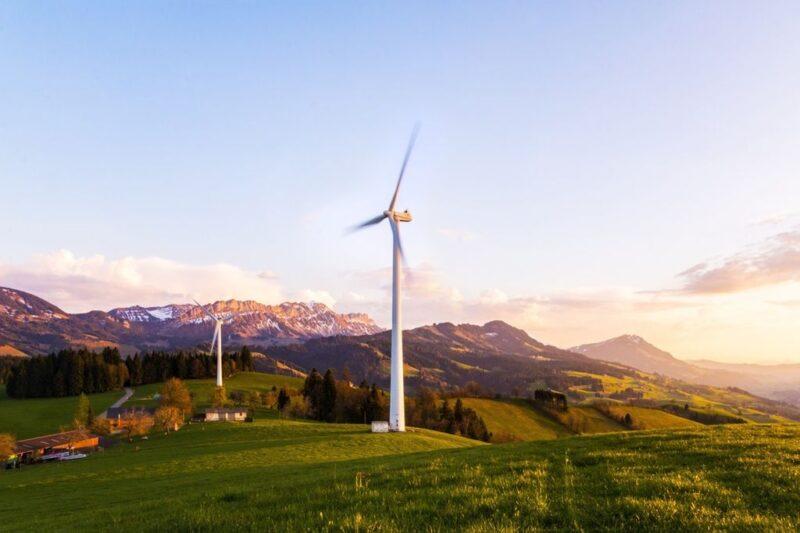 Tepelerde Kullanılan Rüzgar Türbinleri
