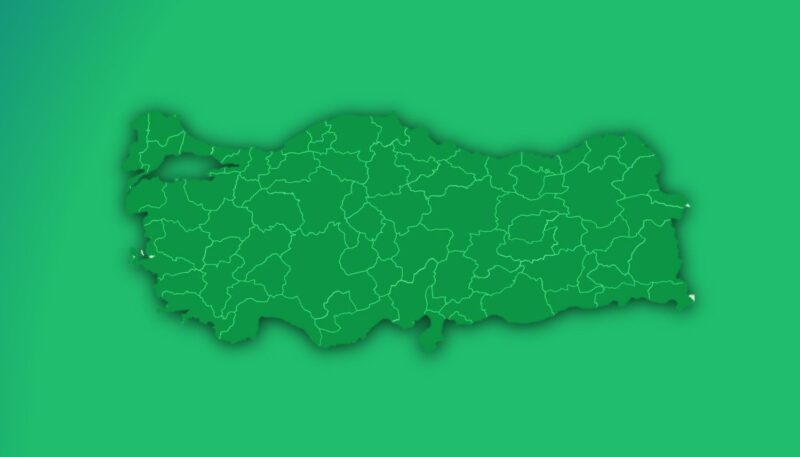 Türkiye'de Enerji Kimlik Belgesinin Haritası