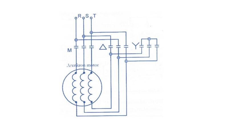 Asenkron Motorlarda Yıldız-Üçgen Yol Verme Yöntemi