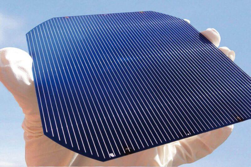 Şekil 5. Çok Kristalli Güneş Pili | Kaynak: Antalyaenerji.com