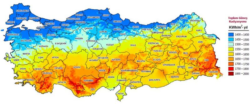 Şekil 10. Türkiye GEPA Atlası | Kaynak: mmo.org.tr